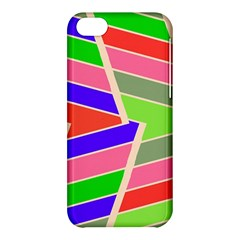 Symmetric Distorted Rectangles			apple Iphone 5c Hardshell Case by LalyLauraFLM