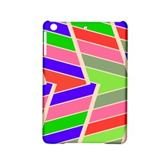 Symmetric Distorted Rectangles			apple Ipad Mini 2 Hardshell Case by LalyLauraFLM