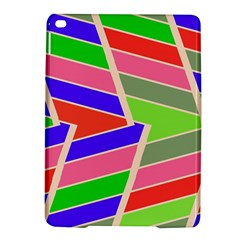 Symmetric Distorted Rectangles			apple Ipad Air 2 Hardshell Case by LalyLauraFLM