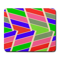 Symmetric distorted rectangles			Large Mousepad by LalyLauraFLM