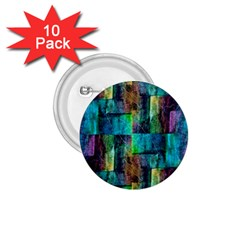 Abstract Square Wall 1 75  Buttons (10 Pack)