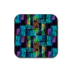 Abstract Square Wall Rubber Coaster (square)  by Costasonlineshop