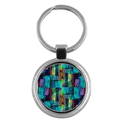 Abstract Square Wall Key Chains (round)  by Costasonlineshop