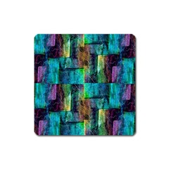 Abstract Square Wall Square Magnet by Costasonlineshop