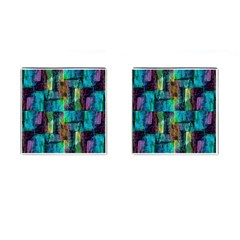 Abstract Square Wall Cufflinks (square) by Costasonlineshop