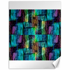 Abstract Square Wall Canvas 12  X 16   by Costasonlineshop