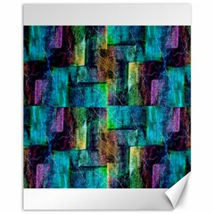 Abstract Square Wall Canvas 11  X 14   by Costasonlineshop