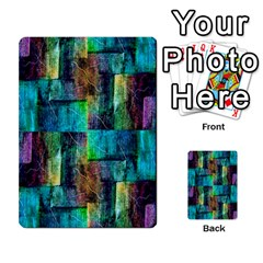 Abstract Square Wall Multi Purpose Cards (rectangle)