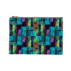 Abstract Square Wall Cosmetic Bag (large)  by Costasonlineshop