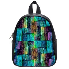 Abstract Square Wall School Bags (small)