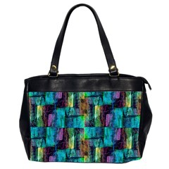 Abstract Square Wall Office Handbags (2 Sides)  by Costasonlineshop