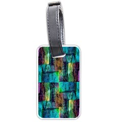 Abstract Square Wall Luggage Tags (two Sides)