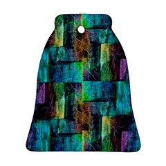 Abstract Square Wall Bell Ornament (2 Sides)