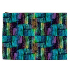 Abstract Square Wall Cosmetic Bag (xxl)  by Costasonlineshop