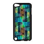 Abstract Square Wall Apple iPod Touch 5 Case (Black) Front
