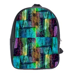 Abstract Square Wall School Bags (xl)  by Costasonlineshop