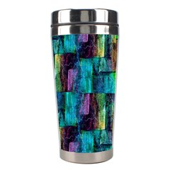 Abstract Square Wall Stainless Steel Travel Tumblers by Costasonlineshop