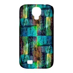 Abstract Square Wall Samsung Galaxy S4 Classic Hardshell Case (pc+silicone) by Costasonlineshop