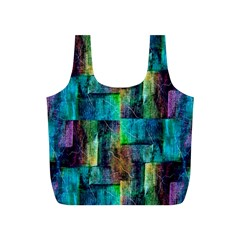 Abstract Square Wall Full Print Recycle Bags (s)