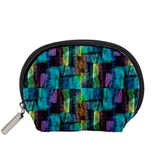 Abstract Square Wall Accessory Pouches (small)  by Costasonlineshop