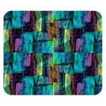 Abstract Square Wall Double Sided Flano Blanket (Small)  50 x40 Blanket Front