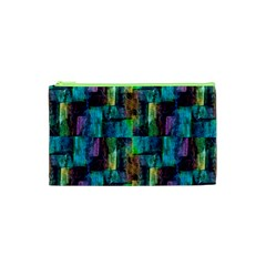 Abstract Square Wall Cosmetic Bag (xs)