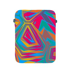 Distorted Shapesapple Ipad 2/3/4 Protective Soft Case by LalyLauraFLM