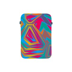 Distorted Shapesapple Ipad Mini Protective Soft Case by LalyLauraFLM