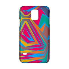 Distorted Shapes			samsung Galaxy S5 Hardshell Case by LalyLauraFLM
