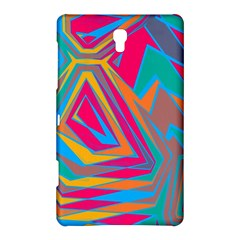 Distorted Shapessamsung Galaxy Tab S (8 4 ) Hardshell Case by LalyLauraFLM