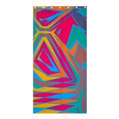 Distorted Shapesshower Curtain 36  X 72  by LalyLauraFLM