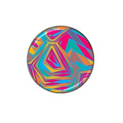 Distorted Shapes			hat Clip Ball Marker by LalyLauraFLM