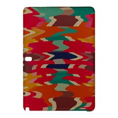 Retro Colors Distorted Shapessamsung Galaxy Tab Pro 12 2 Hardshell Case by LalyLauraFLM