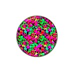 Colorful Leaves Hat Clip Ball Marker Front