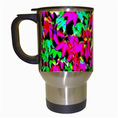 Colorful Leaves Travel Mugs (white) by Costasonlineshop