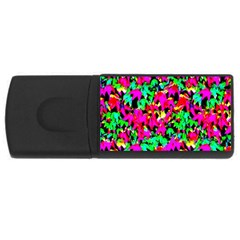 Colorful Leaves Usb Flash Drive Rectangular (4 Gb)  by Costasonlineshop