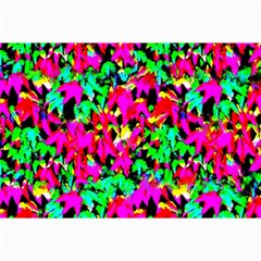 Colorful Leaves Collage 12  X 18  by Costasonlineshop