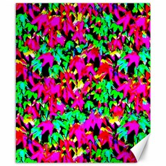 Colorful Leaves Canvas 8  X 10  by Costasonlineshop
