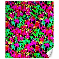 Colorful Leaves Canvas 20  X 24   by Costasonlineshop
