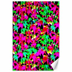 Colorful Leaves Canvas 24  X 36