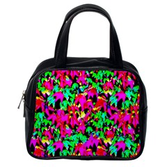 Colorful Leaves Classic Handbags (one Side) by Costasonlineshop