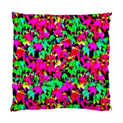 Colorful Leaves Standard Cushion Case (one Side)  by Costasonlineshop