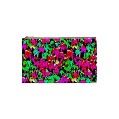 Colorful Leaves Cosmetic Bag (small)