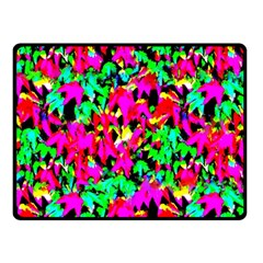 Colorful Leaves Fleece Blanket (small) by Costasonlineshop