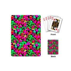 Colorful Leaves Playing Cards (mini)  by Costasonlineshop
