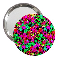 Colorful Leaves 3  Handbag Mirrors by Costasonlineshop