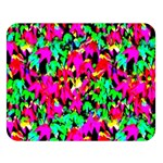 Colorful Leaves Double Sided Flano Blanket (Large)   Blanket Back
