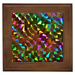 Cool Glitter Pattern Framed Tiles by Costasonlineshop