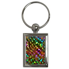 Cool Glitter Pattern Key Chains (rectangle)  by Costasonlineshop