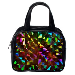 Cool Glitter Pattern Classic Handbags (One Side) by Costasonlineshop